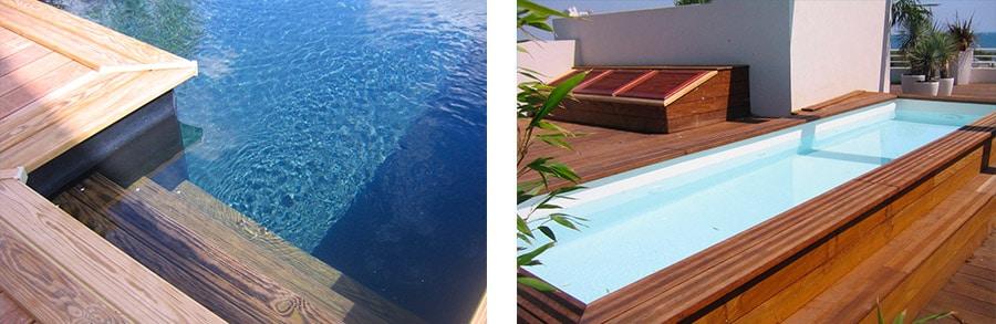 Sublimez votre piscine dans les Alpilles avec une terrasse en bois